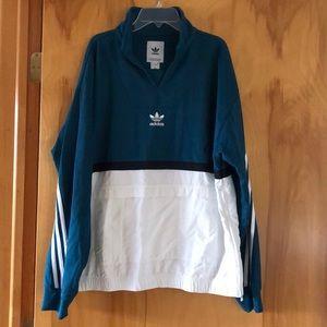 Adidas Pullover Men's Teal, White, Black